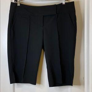 Charlotte Russe black dressy Bermuda shorts